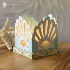 Scallop Shells Tea Light Holder