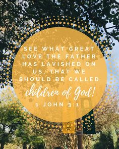 You are a beloved child of God!