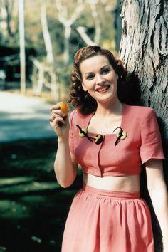Maureen O'Hara,1950s.   - TownandCountryMag.com