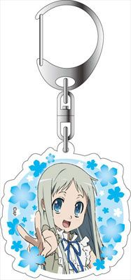AmiAmi [Character & Hobby Shop] | AnoHana the Movie - Acrylic Keychain: Meiko Honma(Released)