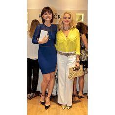 @mariacasadevall com a linda @arealspiller de CS em uma inauguração de joalheira em Fortaleza! #lovecs #carmensteffens