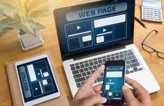 Make your website accessible by making it mobile-responsive, while still maintaining uniqueness with non-linear progression in your web design. Web Design Tips, Web Design Services, Best Web Design, Web Design Company, Page Design, Web Application Development, App Development Companies, Web Development, Mobile Responsive