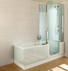 Piccola vasca doccia moderna cerca con google idee per for Camminare attraverso la doccia alla vasca