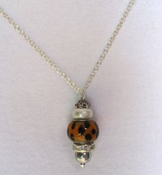 Bead Pendant Necklace... can do with different beads