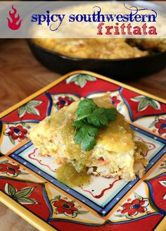 Southwestern Spicy Breakfast Frittata