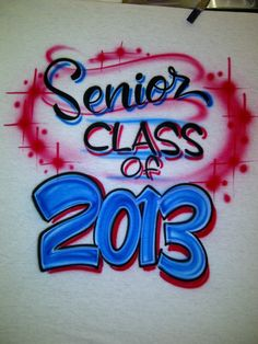 Personalized Shirt Back with Senior Class of Year size S M L XL 2X Front Chest Name Free Shipping
