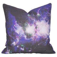 Galaxy Pillow in Purple