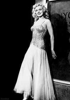 Marilyn Monroe in Ladies of the Chorus, 1948.