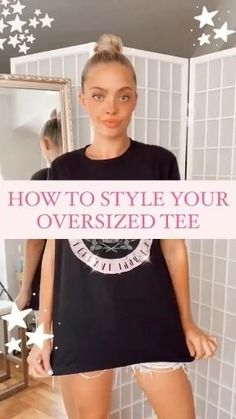 Edgy Outfits, Cute Casual Outfits, Fashion Outfits, Diy Fashion Hacks, Fashion Tips, Fashion Trends, Jugend Mode Outfits, Paris Mode, Clothing Hacks