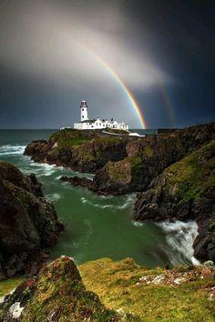 Lighthouse & Rainbow