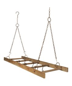 Take a look at this Classic Ladder Pot Rack on zulily today!