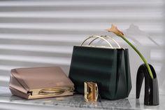 Modern and beautiful Borgo Fall 2015, PU leather 3D designed handbag
