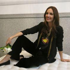 """Look para la presentación de mi libro """"las 4 estaciones de Eugenia Silva"""" en Madrid"""