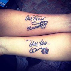 Beste Paar-Tattoo-Ideen (33)  Check more at http://www.modefuralle.com/35-beste-paar-tatowierungs-ideen/
