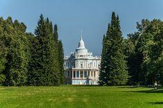 Pavillon des Glissades - Oranienbaum - Construit entre 1762 et 1774 par Antonio Rinaldi.