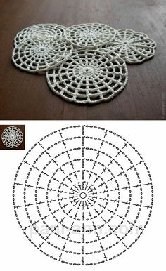 Free Crochet Halloween Spider Web Patterns - Crochet That!- Free Crochet Halloween Spider Web Patterns – Crochet That! How to Crochet a Halloween Spider Web - Filet Crochet, Mandala Au Crochet, Poncho Au Crochet, Crochet Motifs, Freeform Crochet, Crochet Diagram, Crochet Chart, Crochet Squares, Crochet Doilies