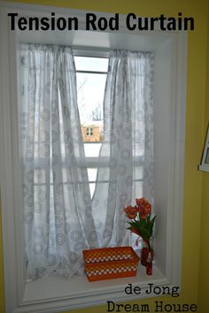 Hanging Curtains To Window Sill