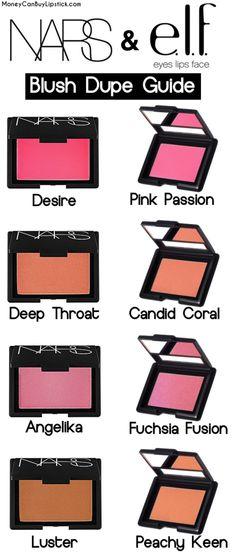 NARS & ELF Makeup Dupes!