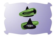 Witch Hat Snap Clip Mini - DigiStitches