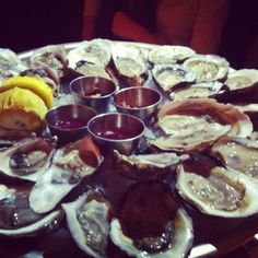 Oyster happy hour at the Mermaid Inn!