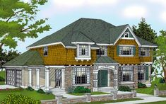 House Plan chp-14222 at COOLhouseplans.com