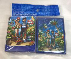 Pokemon Center Welcome To Alola Deck Box & Card Sleeves SEALED SET Japanese #Pokemon