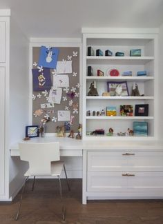 clean, compact, modern workstation-great for kid room