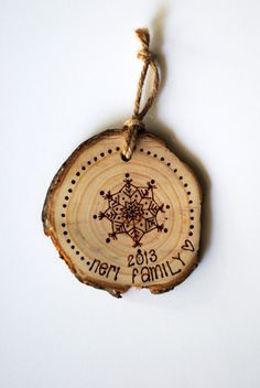 Wood slices, Ornaments and Woods