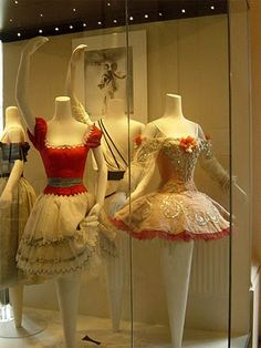 Margot Fonteyn's Coppelia and Princess Aurora Costumes at the Royal Opera House