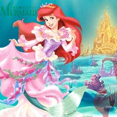 Little Mermaid's Ariel via www.Facebook.com/pages/Princess-Ariel/220139621335723