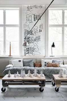 I looooove scandinavian style...TheDesignerPad - The Designer Pad - THE SPIRIT OF THESEASON