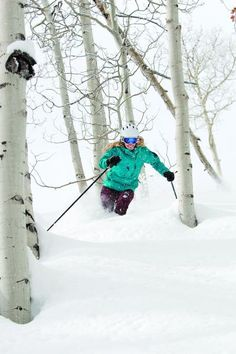 All time favorite- powder tree skiing! Great memories.