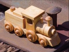 Wooden Locomotive Plans – Children's Wooden Toy Plans and Projects | Woodworking Session