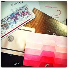 Let the shows begin. Day 1 of Milan Fashion Week. Follow @ELLE Malaysia on Instagram #mfw #fashionweek