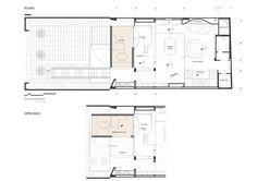 Lujosa vivienda de 7 plantas, construida en una parcela urbana de Teherán, con una sorprendente solución de habitaciones en fachada que pueden rotar.