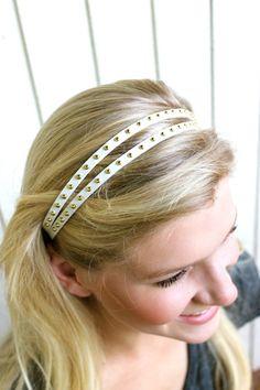 Pretty headbands with a prettier cause. $16