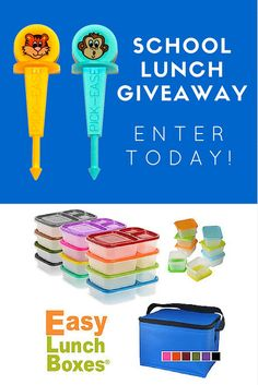 6 Allergy-Friendly School Lunch Ideas and Giveaway!!!!