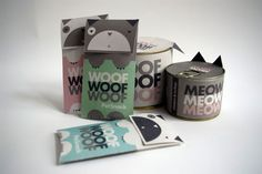 Cute PetFood Packaging by Adrienn Nagy