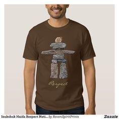 Inukshuk Haida Respect Native American Shirt