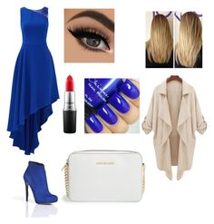 """""""At a wedding"""" by mary-mara on Polyvore featuring Halston Heritage, Nicholas Kirkwood, MAC Cosmetics, MICHAEL Michael Kors, women's clothing, women's fashion, women, female, woman and misses"""