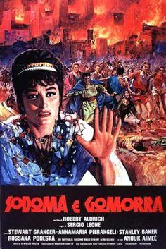 CineMaestri: Sodoma e Gomorra #stewartgranger #sergioleone #claudiamori #gemellekessler #anthonysteffen