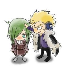 Laxus: Nice fighting there. Freed: OMG! HE'S TOUCHING ME! IT'S TRUE LOVE!
