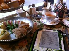 We love this picture of the perfect Afternoon tea on a wet, cold, rainy day. posted to twitter by @violhaine2_0  Twitter / Recent images by @TeaAndSympathy