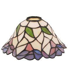 """Meyda Tiffany 12253 9""""W Daffodil Bell Shade"""