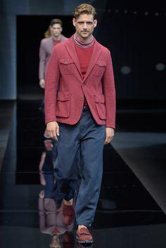 【ルック】「ジョルジオ アルマーニ」2017年春夏ミラノ・メンズ・コレクション 46 / 60