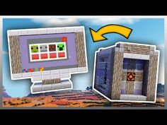 How to Make a WORKING TV in Minecraft! - YouTube