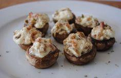 Champiñones rellenos de Philadelphia | Cocinar en casa es facilisimo.com