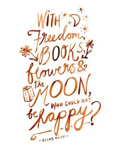 You have books...be HAPPY!!!