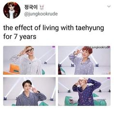 The effect of Kim Taehyung