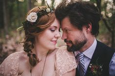 Beautiful Intimate Forest Elopement